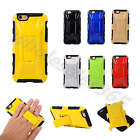 Car Style 2 in 1 Heavy Duty Shockproof Rugged Hybrid Tough Case Cover Kickstand
