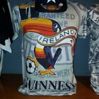 MEN Tank top Guinness Beer Ireland Drink Dublin COTTON 100% soft vintage M,L