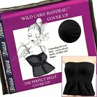 Braza Wild Card Bandeau Midriff Cover Up - S6300
