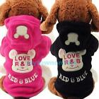 Cute Fleece Cartoon Clothes Warm Coat Costume Outwear Apparel for Pet Dog Cat