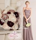 BNWT FEARNE Taupe Strapless Chiffon Bridesmaid Dress UK Sizes 6 - 18