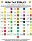 SugarFlair Edible Paste Gel Food Cake Icing Colouring Colour 25g :: Many Colors