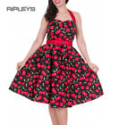 Dolly and Dotty SOPHIE Retro 50s Dress Swing ~ Cherry Rockabilly All Sizes
