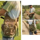 Outdoor Sports Multifunction Lure Bag Fishing Rod Tackle Bag Waist Pack Portable