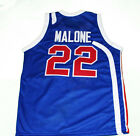 MOSES MALONE UTAH STARS JERSEY BLUE NEW ANY SIZE XS - 5XL