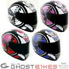 BOX BX-1 SCOPE FULL FACE MOTORBIKE MOTORCYCLE CRASH HELMET GHOSTBIKES