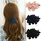 Chic Beauty Flowers Women Girls'  Banana Barrette Hair Clip Hair Pin Claw