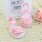 Summer Baby Sandals Infant Toddler Girl Lace Soft Sole Non-slip Shoes 0-18M A80