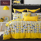 Floyd Yellow Quilt Cover Set or Accessories SINGLE DOUBLE QUEEN KING Super King