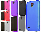 For Alcatel OneTouch Conquest TPU CANDY Hard Gel Flexi Skin Case Phone Cover