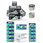 Genuine MAXELL & SONY Silver Oxide Watch Batteries [All Sizes] 1 2 4 x QTY