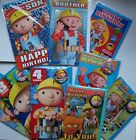 Birthday Card Bob The Builder Son Brother Nephew Age 2 3 4