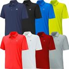 Adidas Golf 2015 Climacool Sport Classic Deboss 3-Stripes Mens Golf Polo Shirt