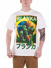 Streetfighter Blanka Character Official Mens New White T Shirt