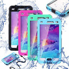 FOR SAMSUNG GALAXY NOTE 4 N9100 SWIMMING WATERPROOF SHOCKPROOF CASE COVER