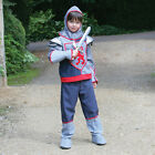 NEW! TRAVIS CRUSADER KNIGHT FANCY DRESS OUTFIT + SWORD BOYS 3-5 or 9-11 YEARS