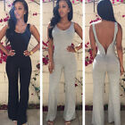 Sexy Women Sleeveless Party Jumpsuit Backless Pants Romper Playsuit Clubwear