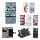 Luxury Leather Card Purse Case For Various Phones Cover Wallet Pocket Stand Flip