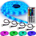NINETEC Flash30 Profi-Set 5m RGB LED Strip e Band wasserdicht IP65 + 4 Verbinder