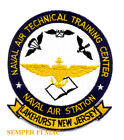 NAVAL AIR TECHNICAL TRAINING CENTER LAKEHURST NEW JERSEY PATCH US NAVY USS WOW