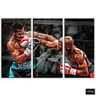 Boxing Floyd Mayweather  Sports BOX FRAMED CANVAS ART Picture HDR 280gsm