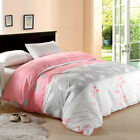Pink Single/Double/Queen/King Bed New Cotton Quilt/Duvet Cover Set Cotton Branch