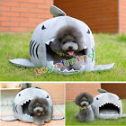 1pcs Luxury Shark Mouth Pet Dog Cat House Removable & Washable Dog Bed Kennel