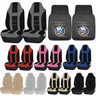 NHL New York Islanders Rubber Floor Mat High Back Seat Cover Universal Combo $59.95 USD on eBay