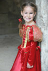 NEW! TRAVIS MEDIEVAL QUEEN TUDOR FANCY DRESS COSTUME GIRLS 3-5/ 6-8/ 9-11 YEARS