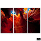 Canyon Arizona Red Landscapes BOX FRAMED CANVAS ART Picture HDR 280gsm