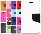For Alcatel OneTouch Elevate Premium Leather 2 Tone Wallet Case Pouch Flip Cover