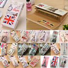 2015 New Fashion Lady Leather Printed Designer Long Purse Clutch Wallet Card A