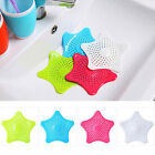 Starfish Drain Hair Catcher Bath Stopper Rubber Strainer Filter Shower Cover New