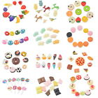 10PCs/Set Mix Resin Flatback Scrapbook for Phone DIY Craft U Pink Shape
