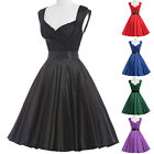 CHEAP Vintage Style 1950s Rockabilly Pinup Swing Housewife Party Evening Dresses