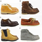 MENS TIMBERLAND CASUAL LACE CHELSEA LEATHER WINTER ANKLE BOOTS SHOES SIZE UK 8