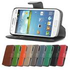 Retro Leather Wallet Flip Full Body Case Cover - Samsung Galaxy Core Plus *SALE*