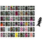 Color Design Hard Snap-On Case Cover+Cable Wrap for iPod Touch 4th Gen 4G