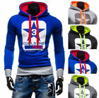 Winter warm Men trendy New Long Sleeve sport Coat Hoodies Hooded Sweatshirts
