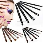 Pro 6 pcs Makeup Brushes Set Powder Foundation Eyeshadow Eyeliner Lip Brush Set