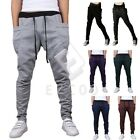 Men Soft Harem Pants Jogger Sportwear Baggy Slacks Dance Hip-hop Trousers CAMC37