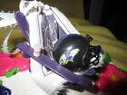 NFL - AFC - BALTIMORE RAVENS BEACH CHAIR CAKE TOPPER/CHRISTMAS/ANYTIME ORNAMENT