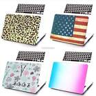 Print Plastic Hard Case Shell +Keyboard Cover for Apple Macbook Air 13'' ItS7