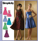 Simplicity Misses/Petite Sewing Pattern 4070 Cocktail Dresses