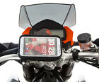 Bike Handlebar Clamp Bolt Motorcycle Mount + Water Resistant Case for LG G3