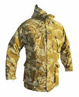 British Army Camo Sand Jacket - Hood - Genuine Issue - Military Grade 1 - DesJKT