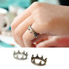 1Pc Women/Girl Vintage Crown Shaped Ring Fashion Ring Jewelry
