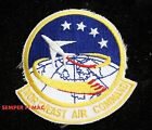 NORTHEAST AIR COMMAND HAT PATCH US AIR FORCE PEPPERALL AFB PIN UP USNEC SAC NEAC