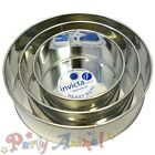 "Invicta 6"" 8"" 10"" - Pack of 3 -High Quality Professional Cake Tins Pans/Bakeware"