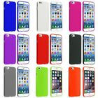 Colorful TPU Skin Gel Soft Rubber Cover Case For Apple iPhone 6 6s 4.7 inch